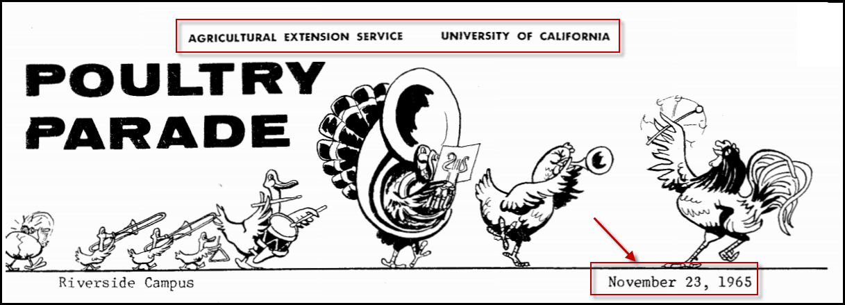 Poultry Parade 1965